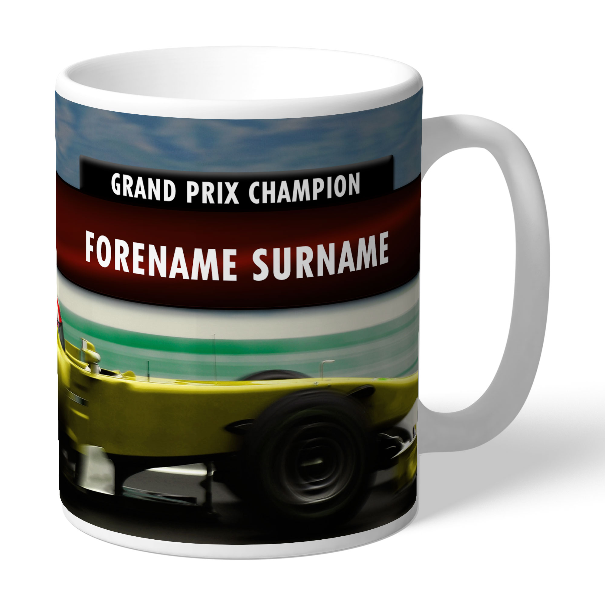 Personalised Grand Prix Mug