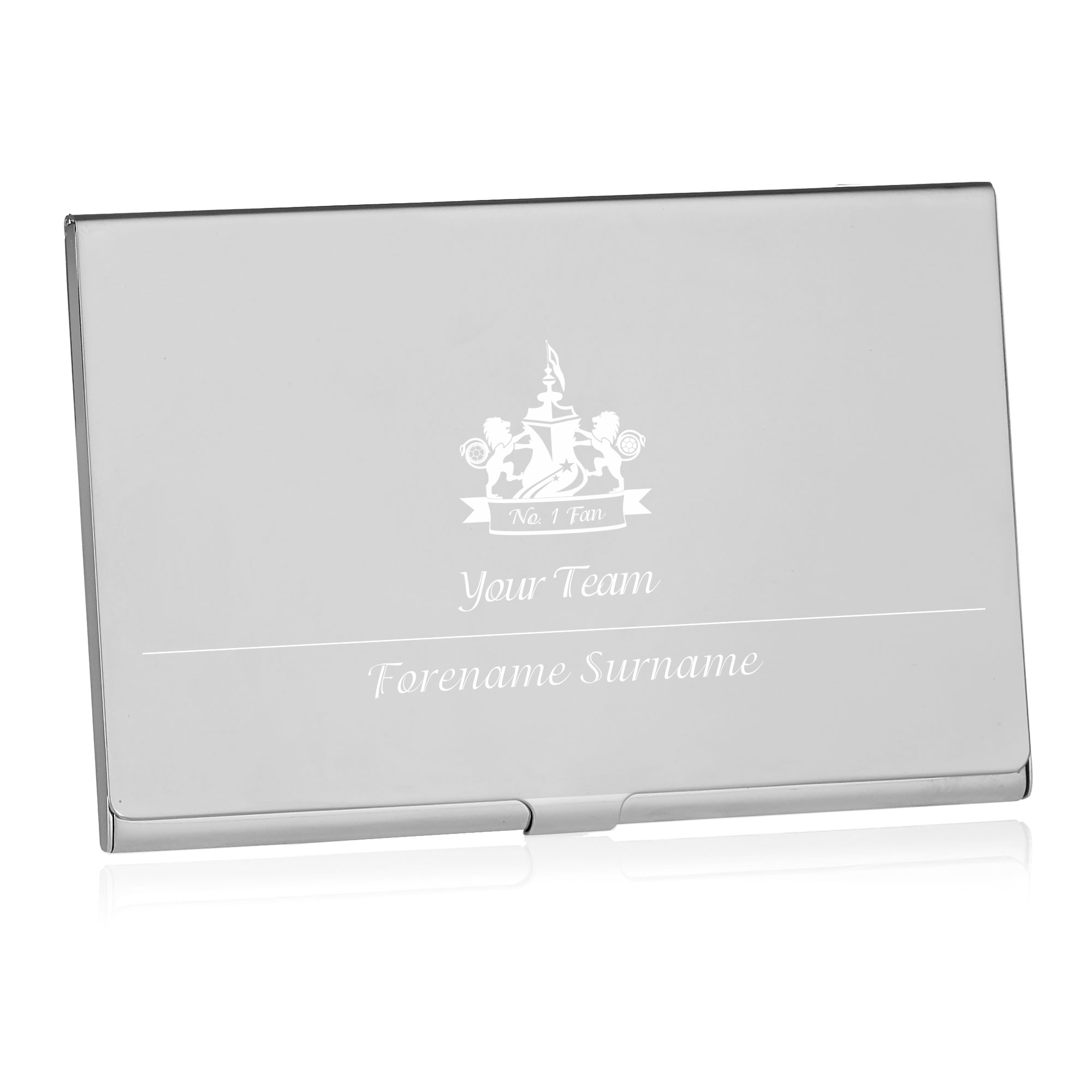 Personalised Football Business Card Holder