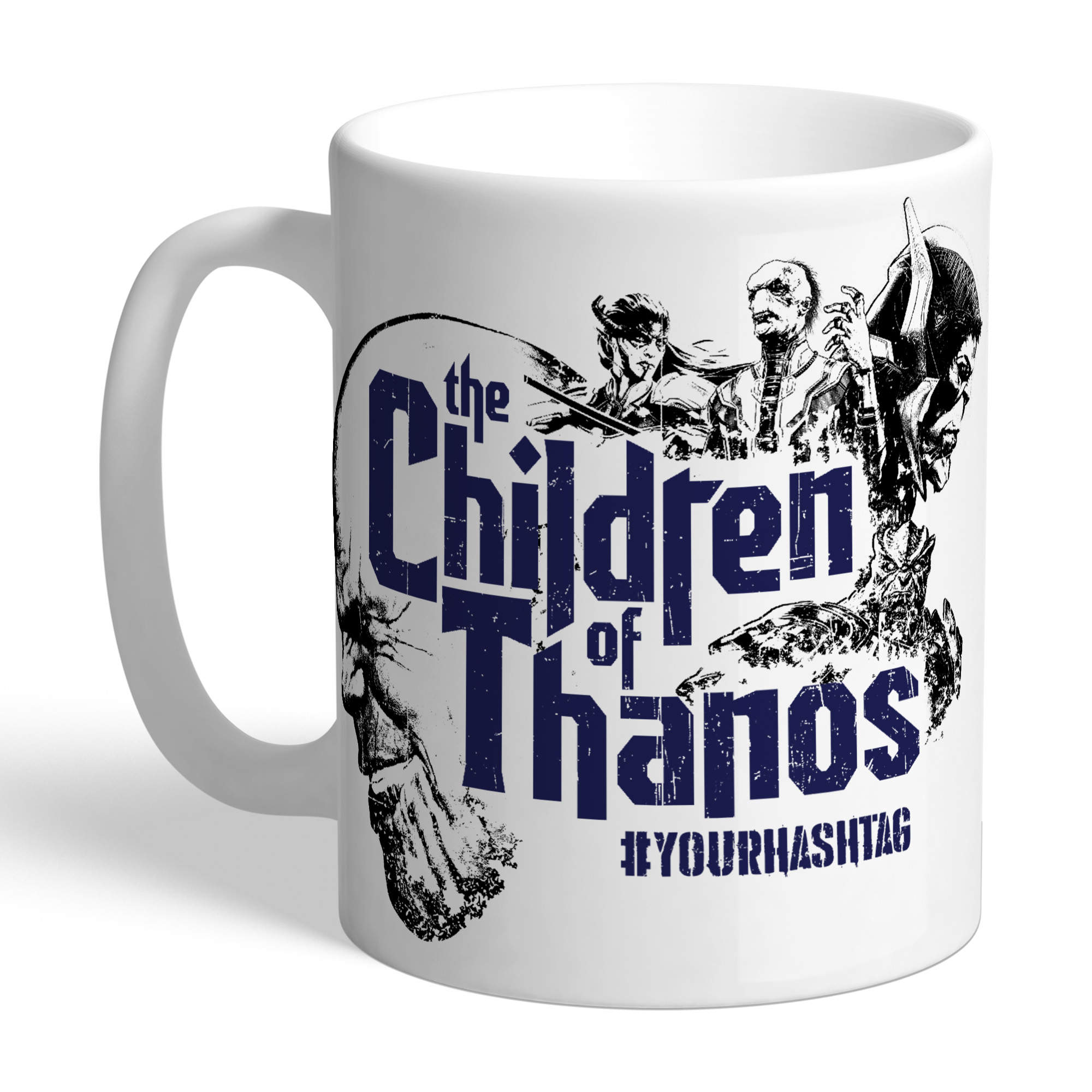 Marvel Infinity War Children Of Thanos Hashtag Mug