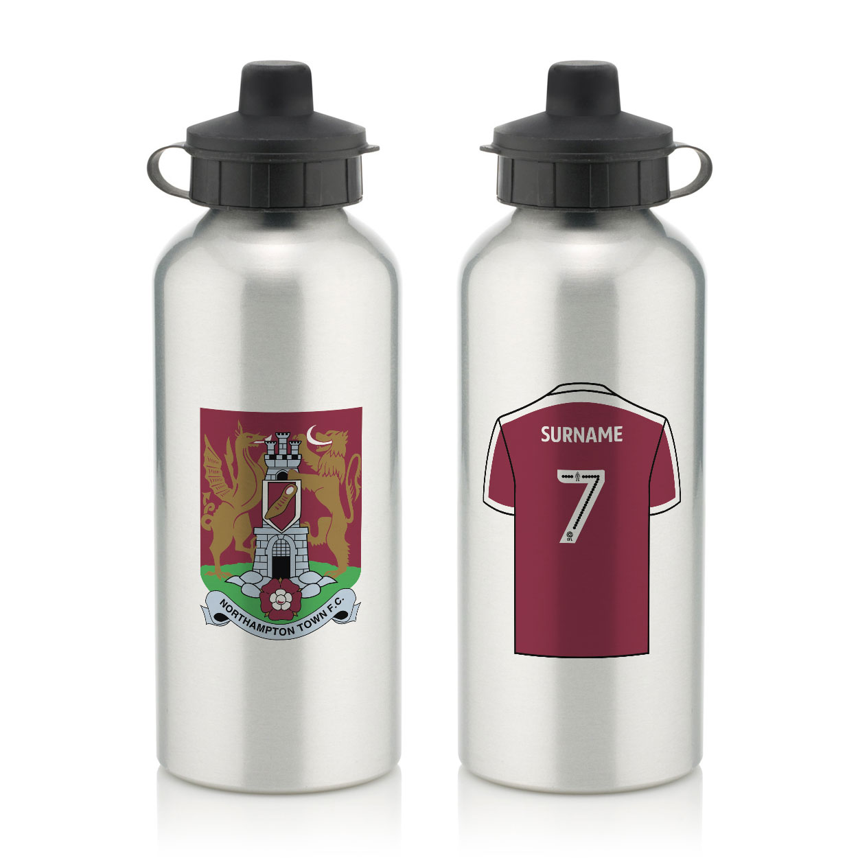 Northampton Town FC Aluminium Water Bottle