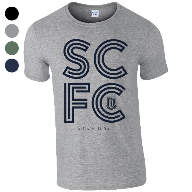 Stoke City FC Stripe T-Shirt