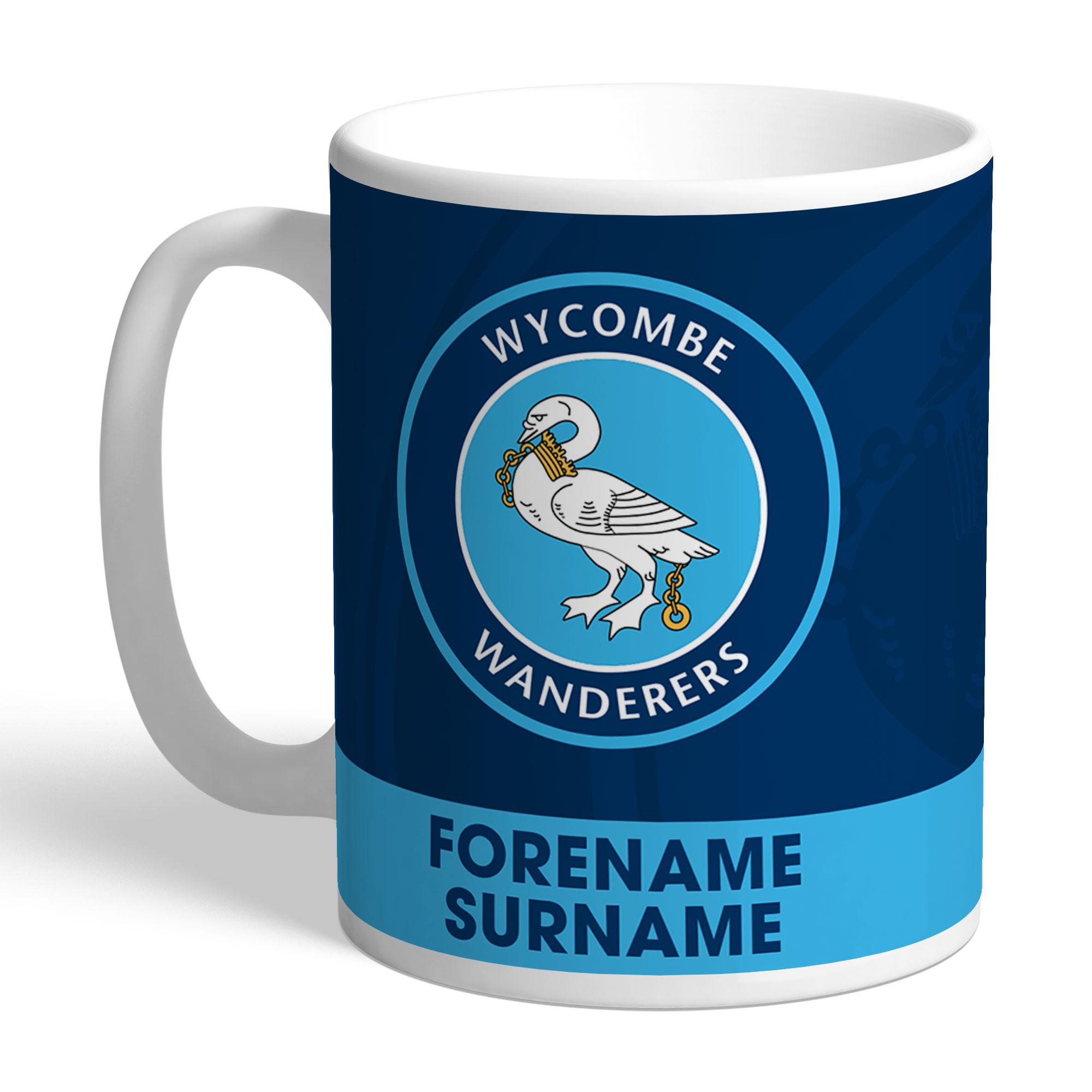 Wycombe Wanderers Bold Crest Mug
