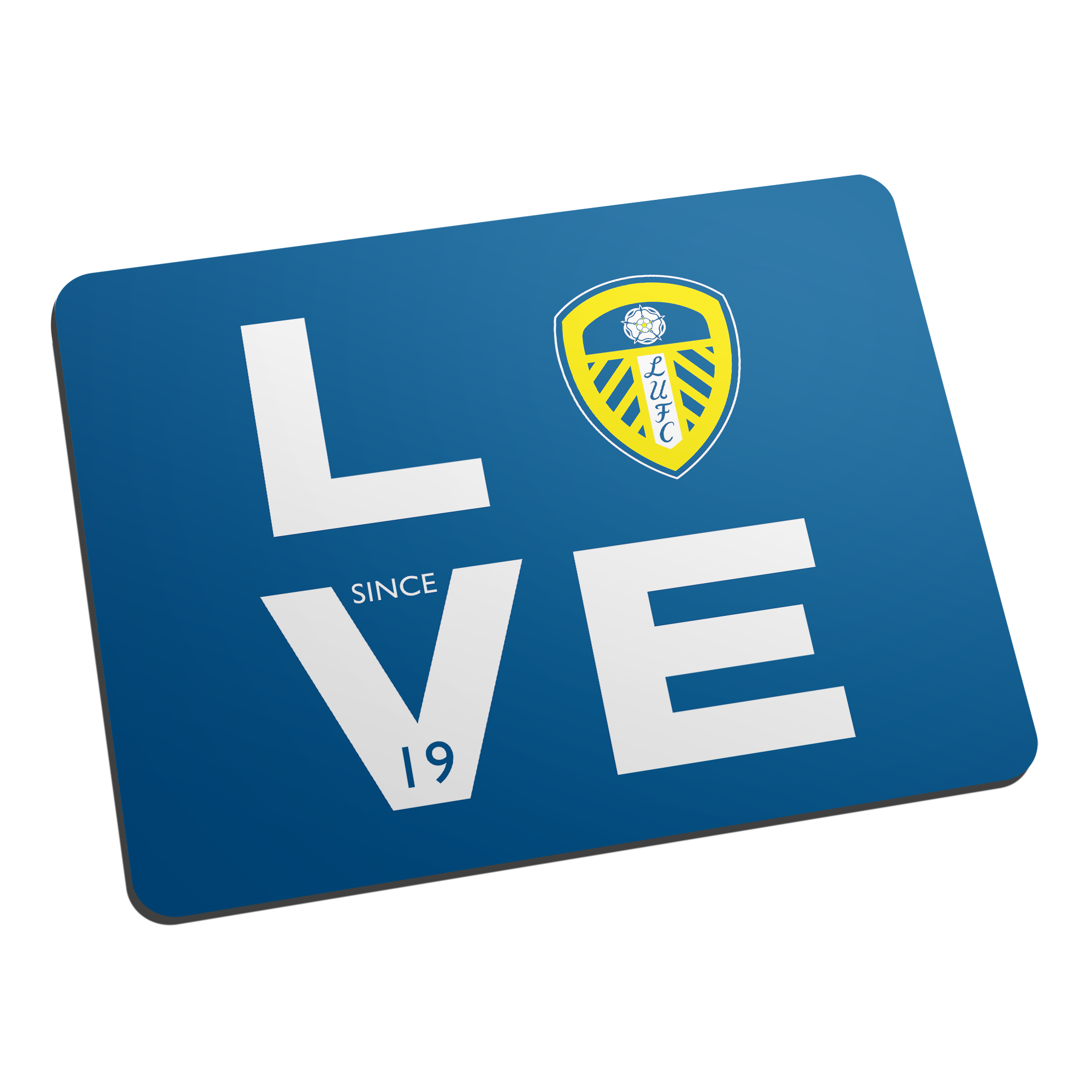 Leeds United Love Mouse Mat