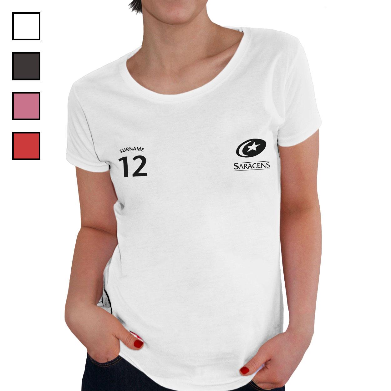 Saracens Ladies Sports T-Shirt