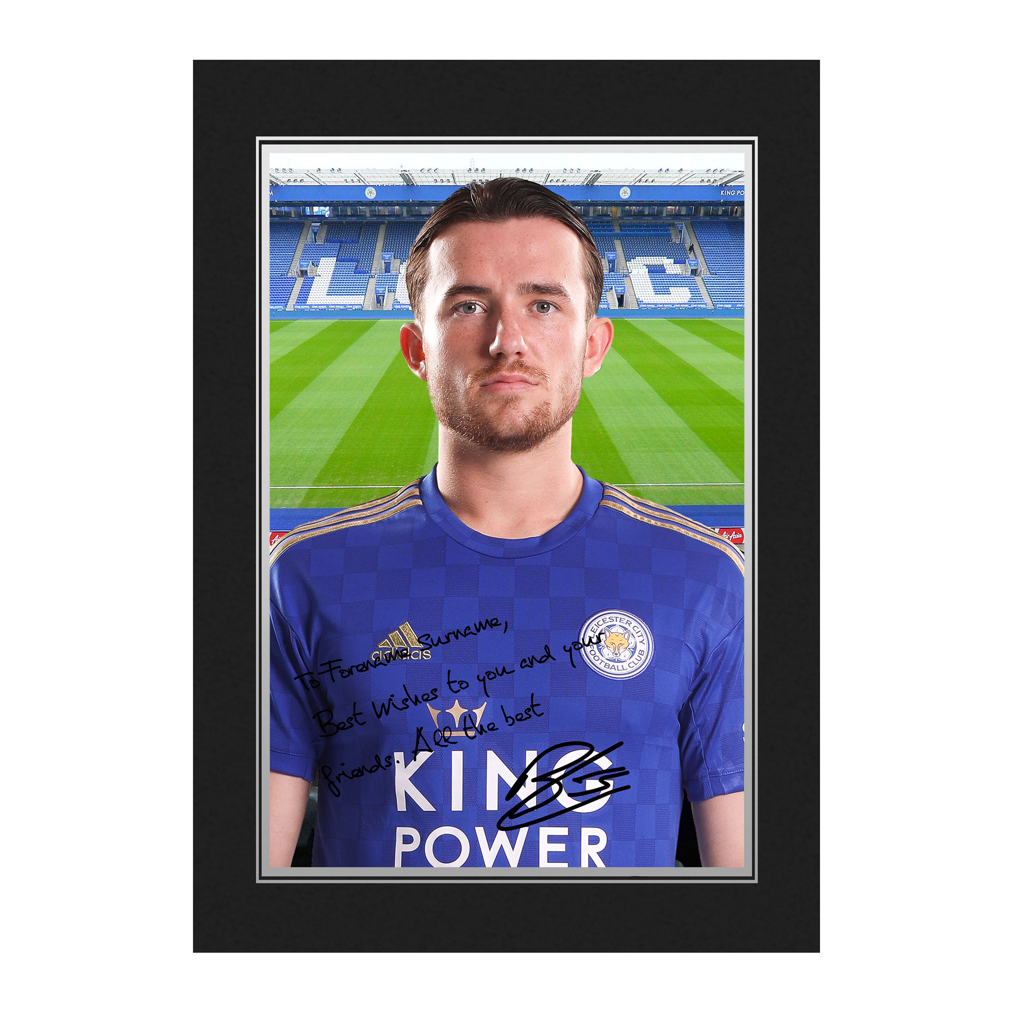 Leicester City FC Chilwell Autograph Photo Folder