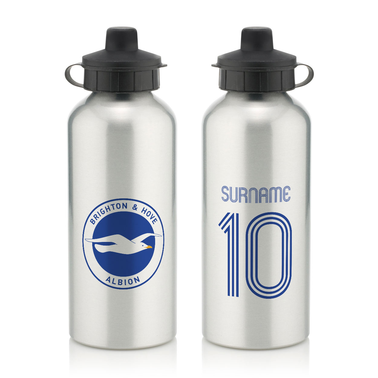 Brighton & Hove Albion FC Retro Shirt Water Bottle