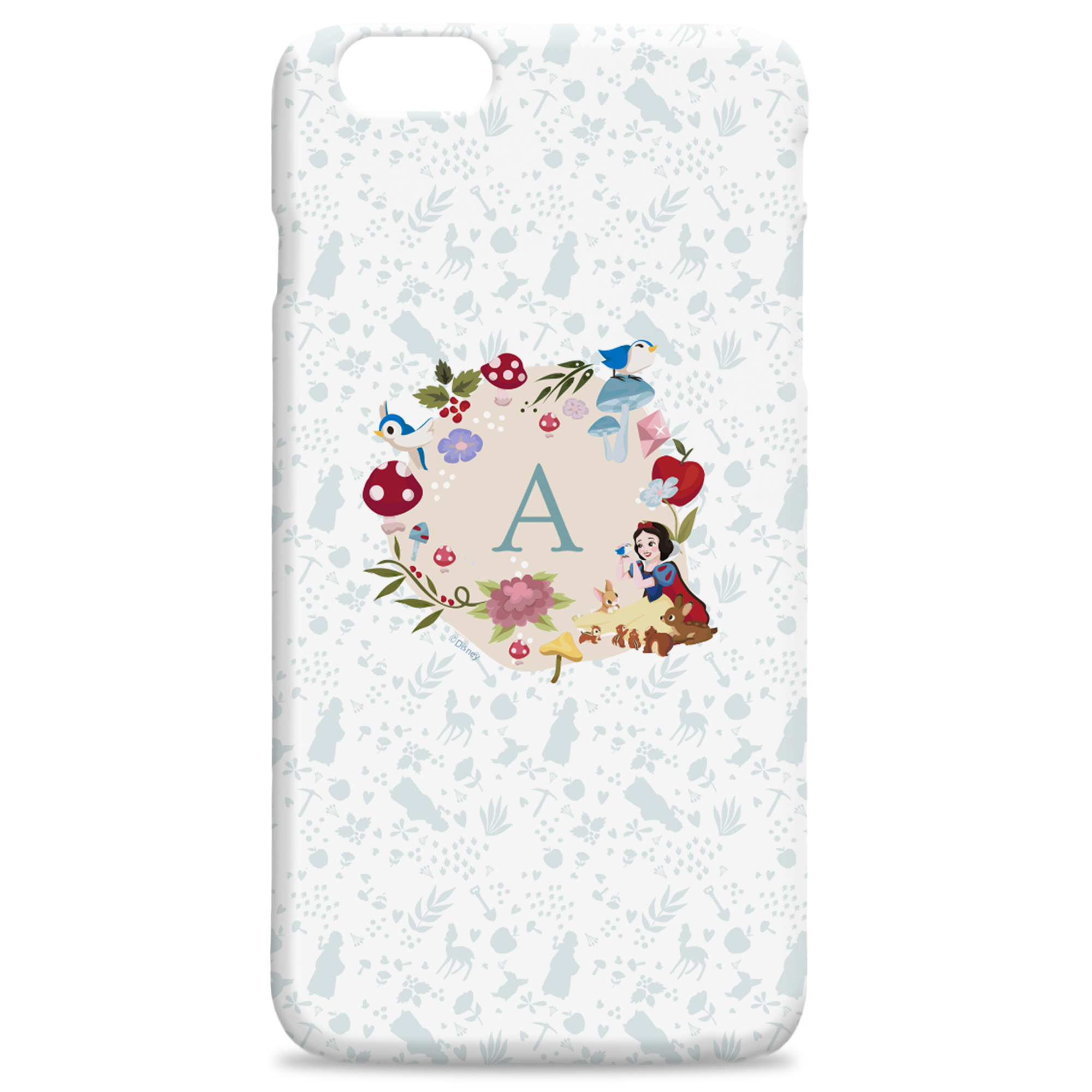 Disney Princess Snow White Initial Hard Back Phone Case