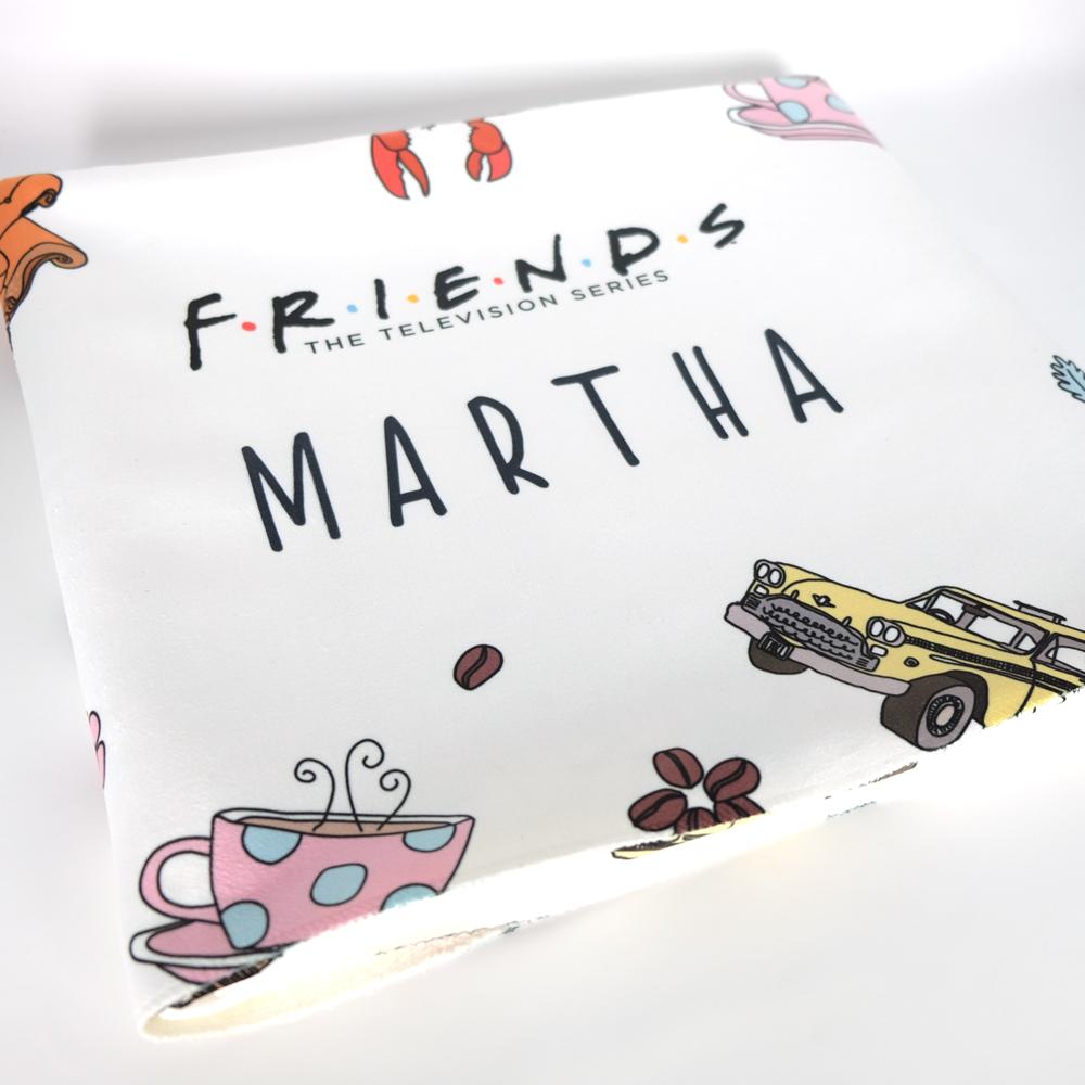 FRIENDS™ Pattern Fleece Blanket