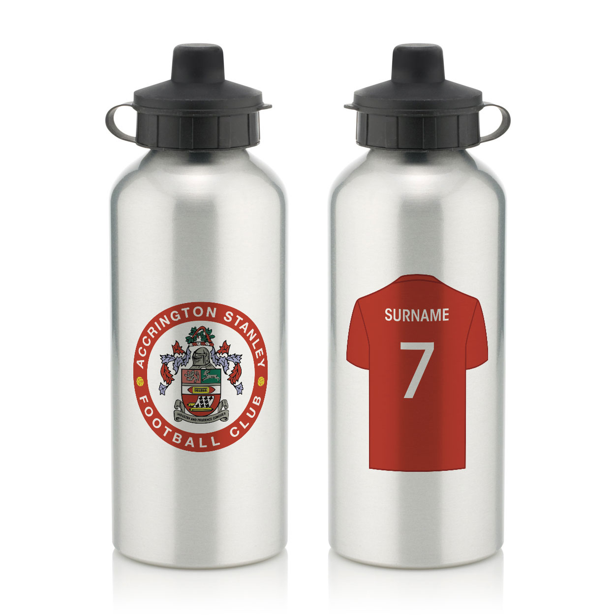 Accrington Stanley Aluminium Water Bottle
