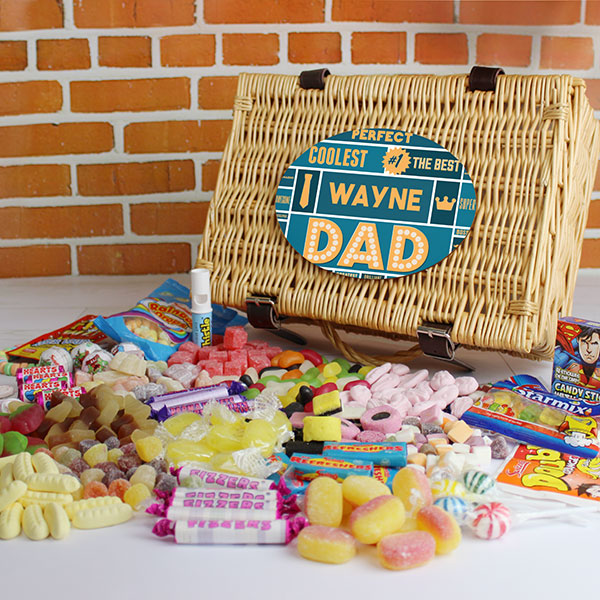 Best Dad - Retro Sweet Hamper