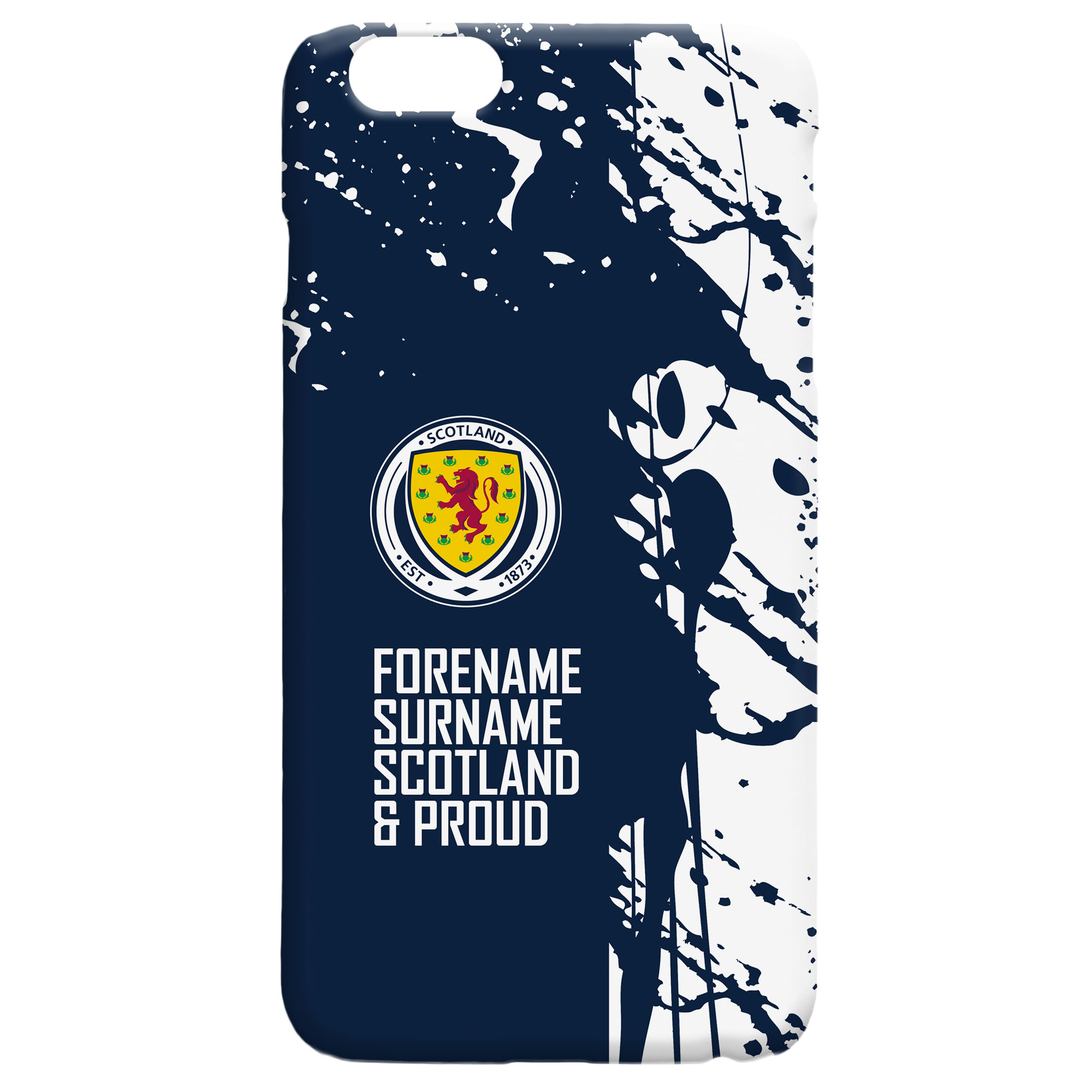 Scotland Proud Hard Back Phone Case