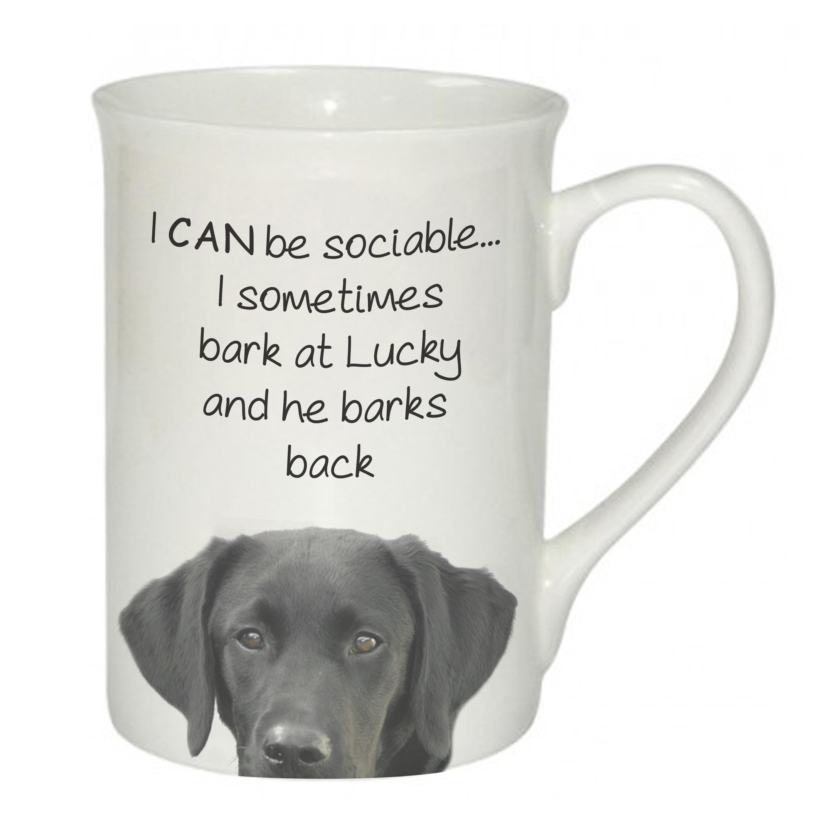 Sociable Dog Mug