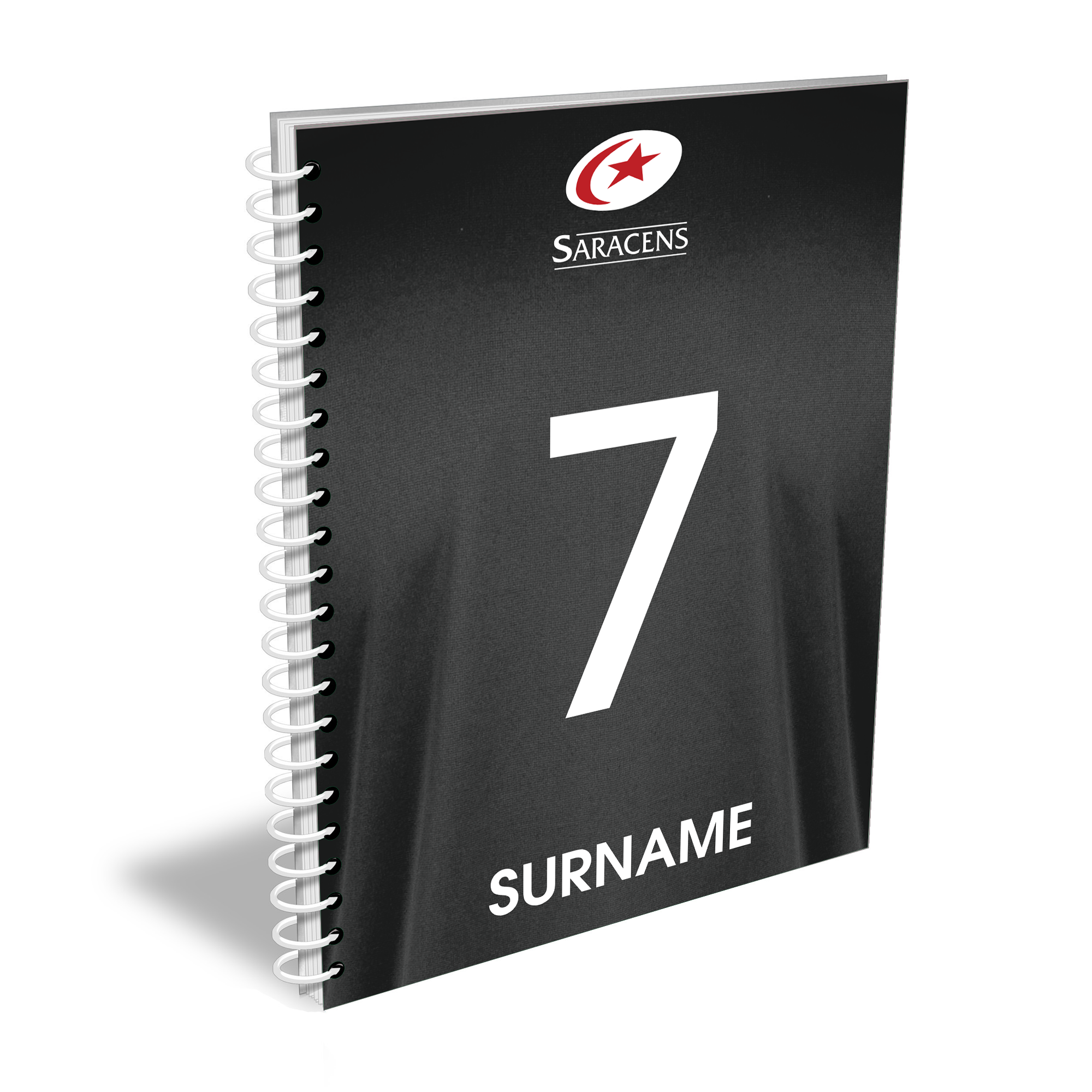 Saracens Shirt Notebook