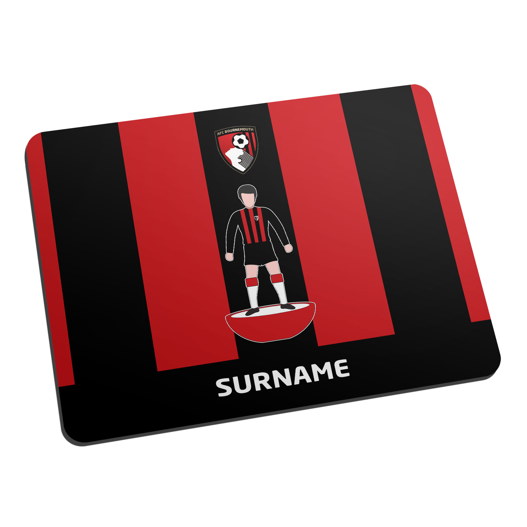 AFC Bournemouth Player Figure Mouse Mat