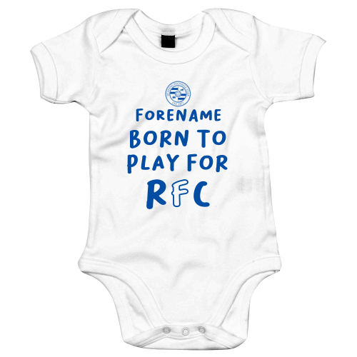 Reading FC Born to Play Baby Bodysuit