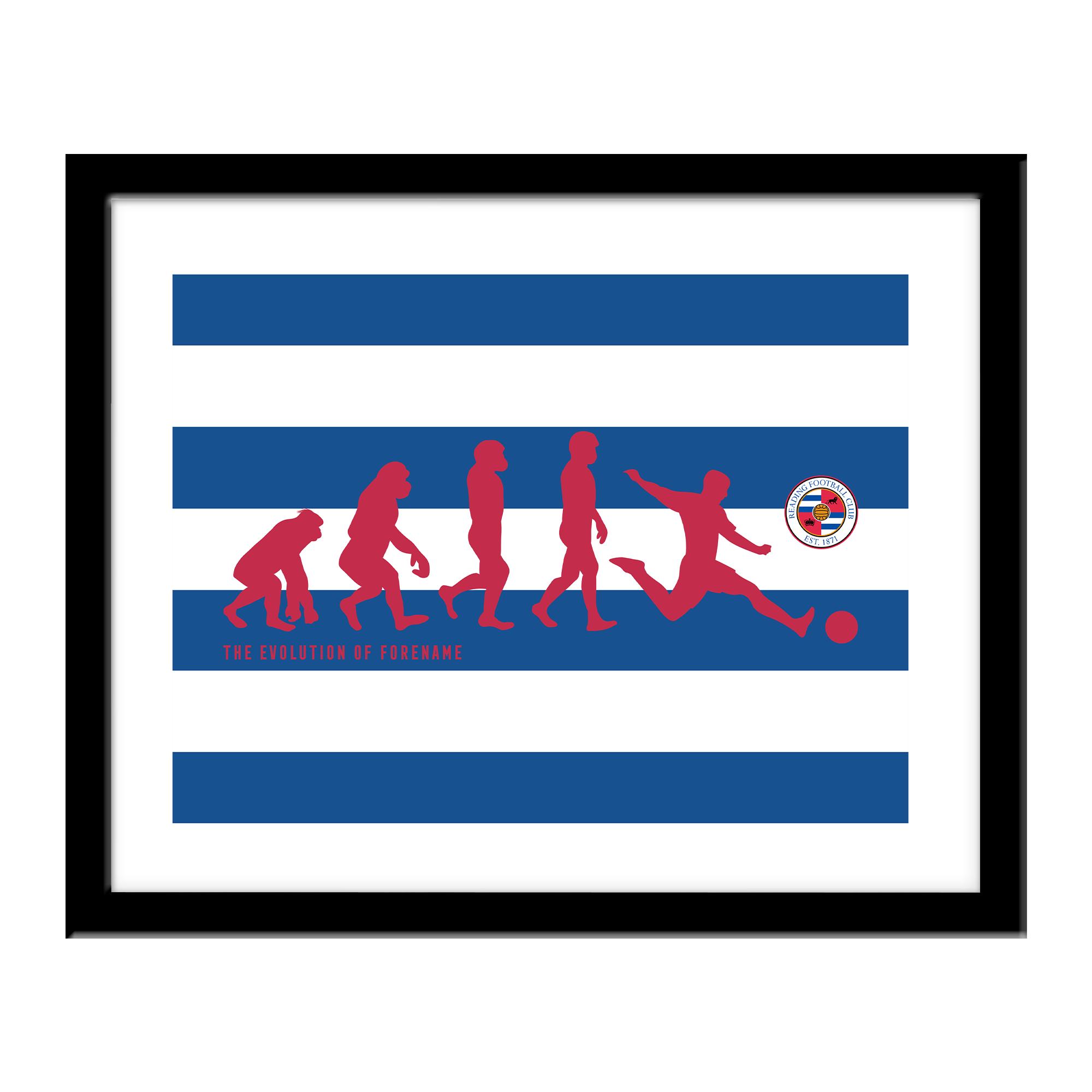 Reading FC Evolution Print