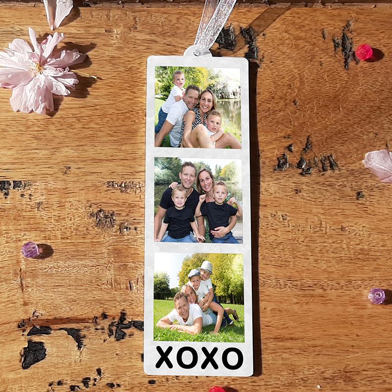 HANGING PHOTO TOKEN  - XOXO