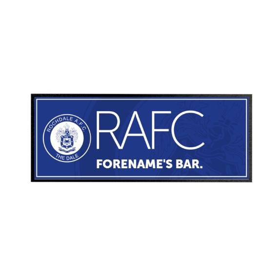 Rochdale AFC Mono Crest Regular Bar Runner
