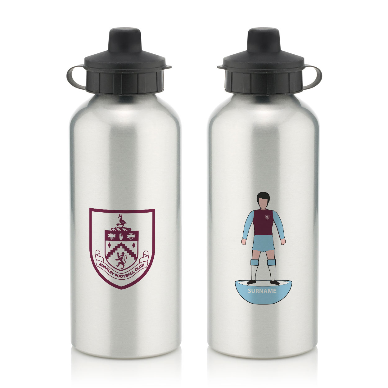 Burnley FC Player Figure Water Bottle