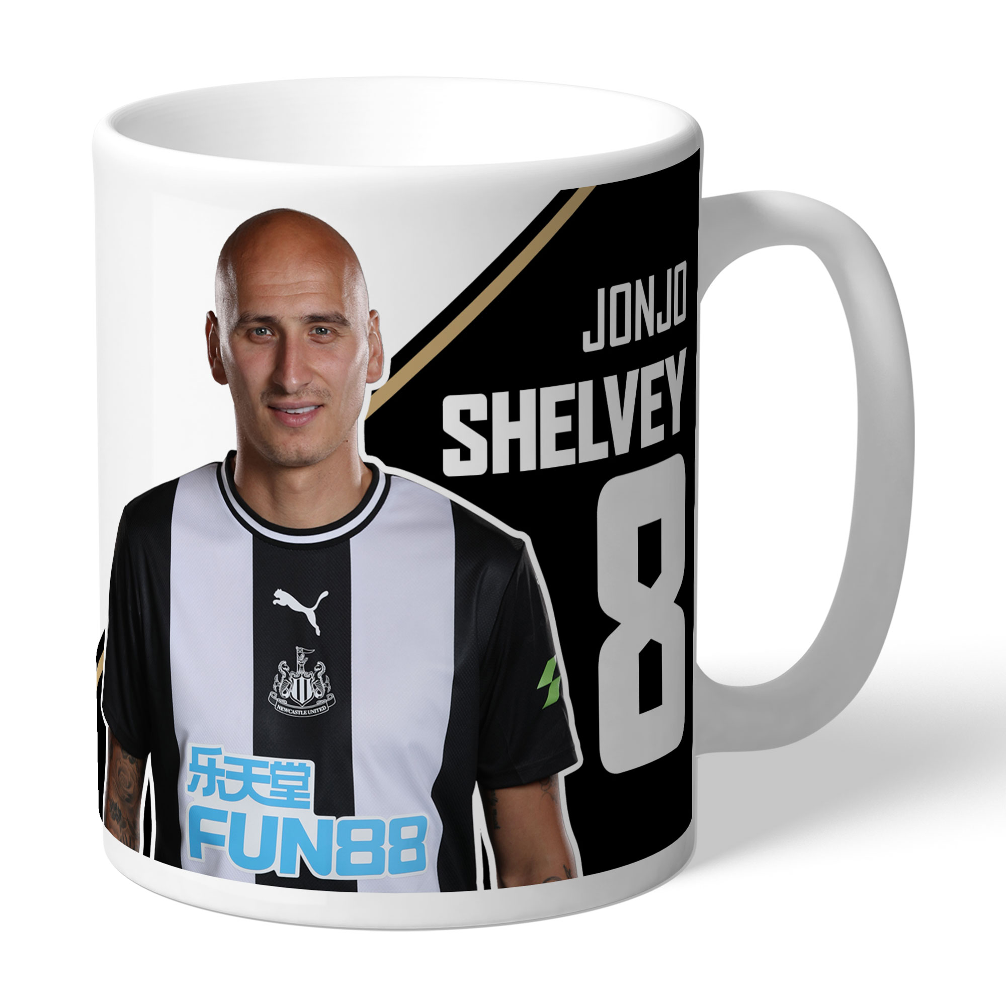 Newcastle United FC Shelvey Autograph Mug