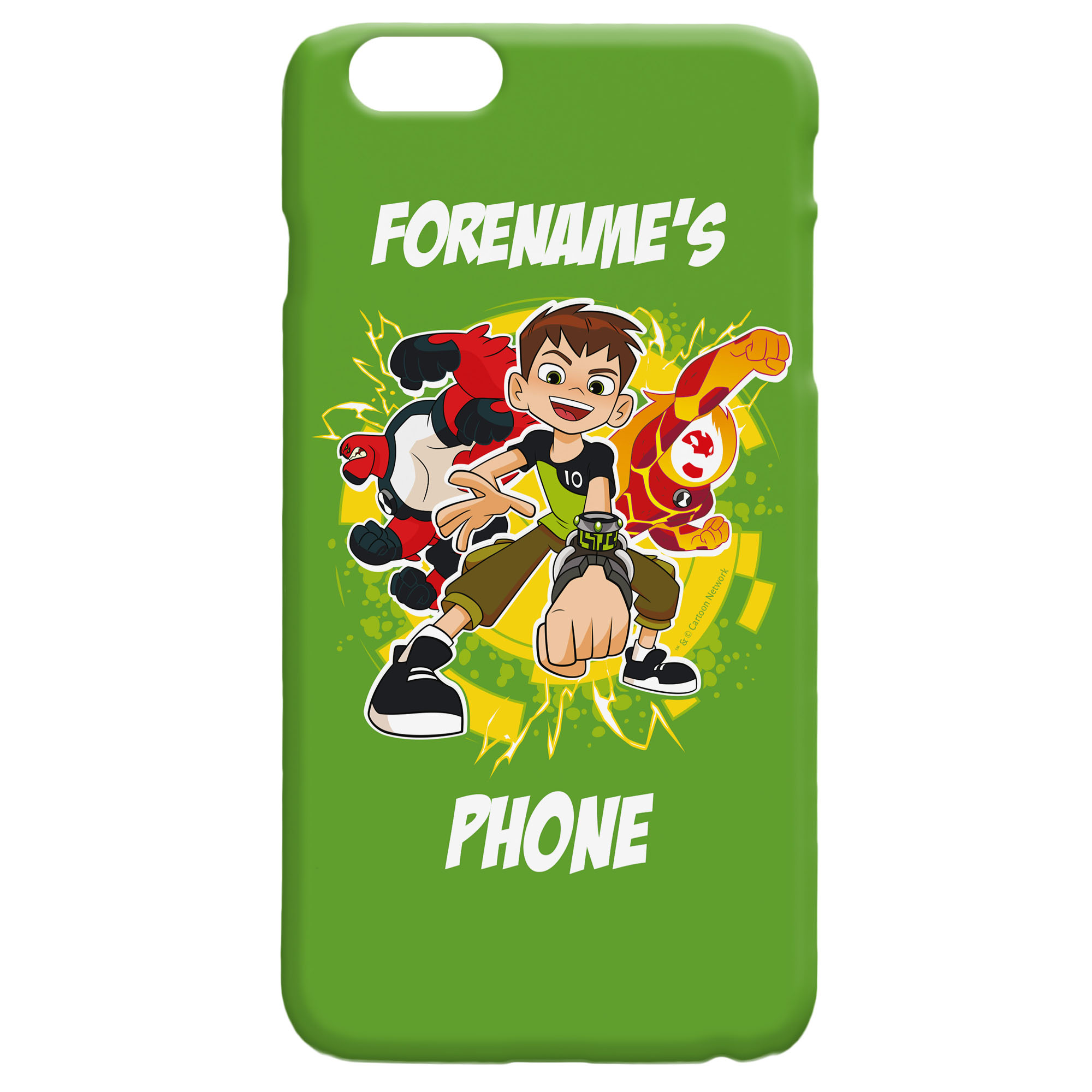 Ben 10 Names iPhone Case