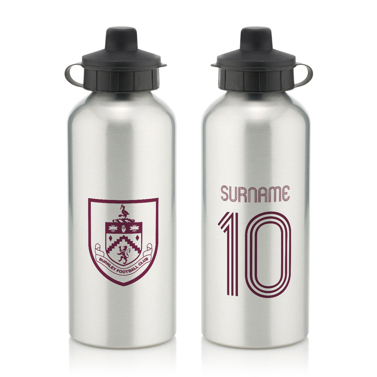 Burnley FC Retro Shirt Water Bottle