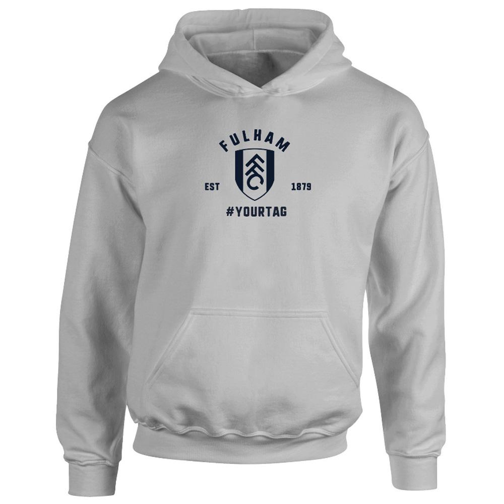 Fulham FC Vintage Hashtag Hoodie