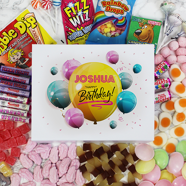 Happy Birthday Deluxe Sweet Box