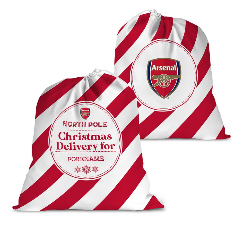 Arsenal FC Christmas Delivery Santa Sack