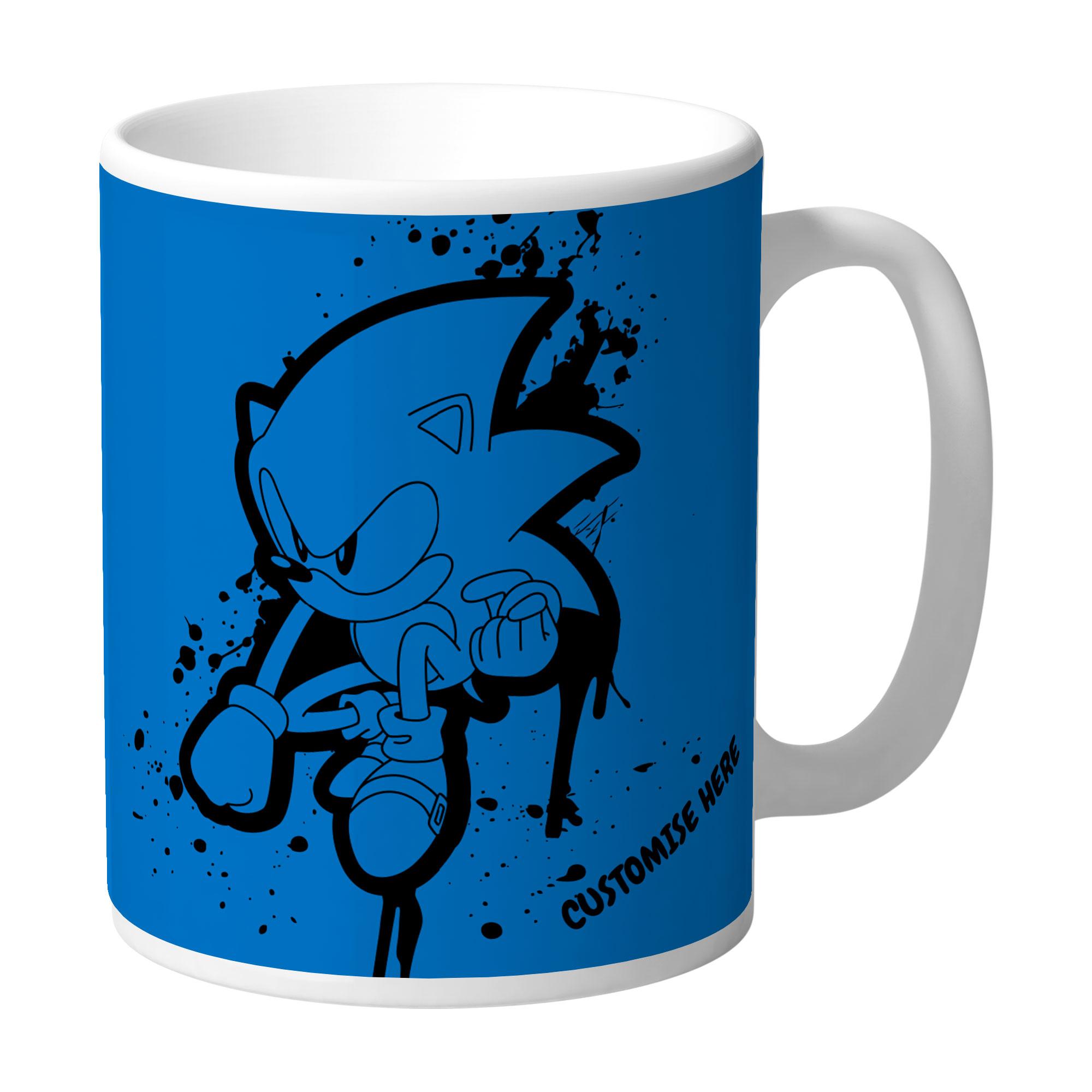 Mug - Graffiti Sonic - Classic Sonic