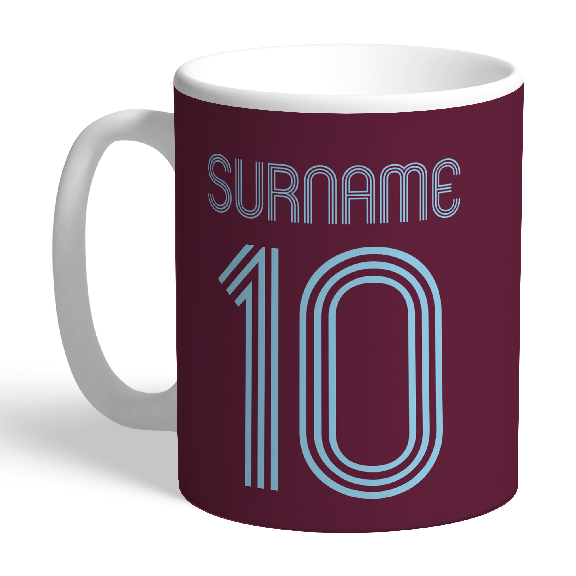 Burnley FC Retro Shirt Mug