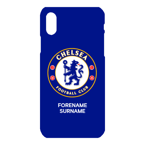Chelsea FC Bold Crest iPhone X Phone Case