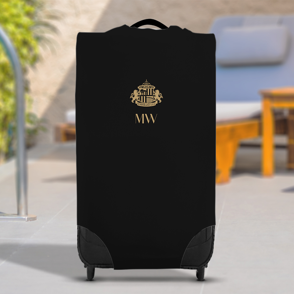Sunderland AFC Initials Caseskin Suitcase Cover (Small)