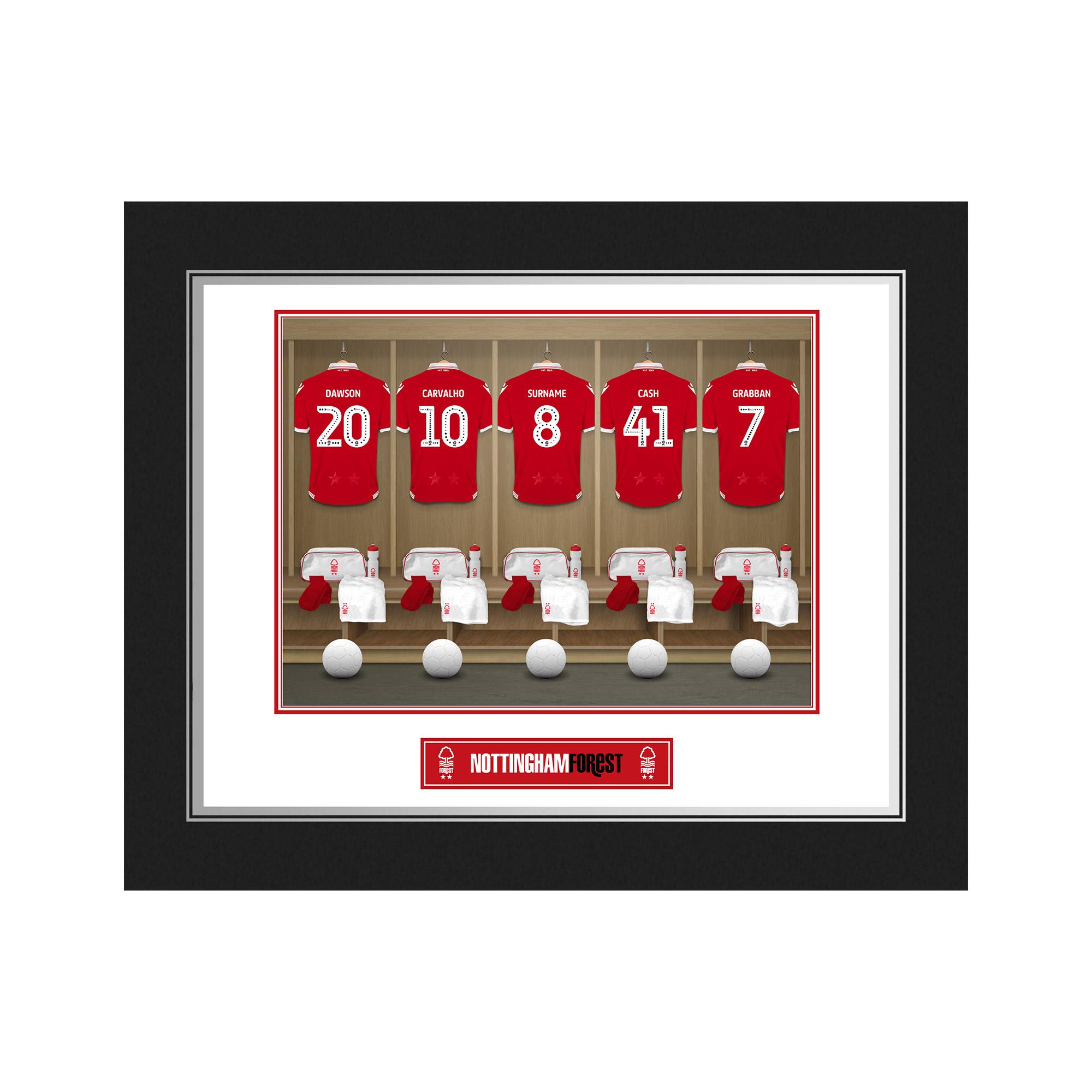 Nottingham Forest FC Dressing Room Photo Folder