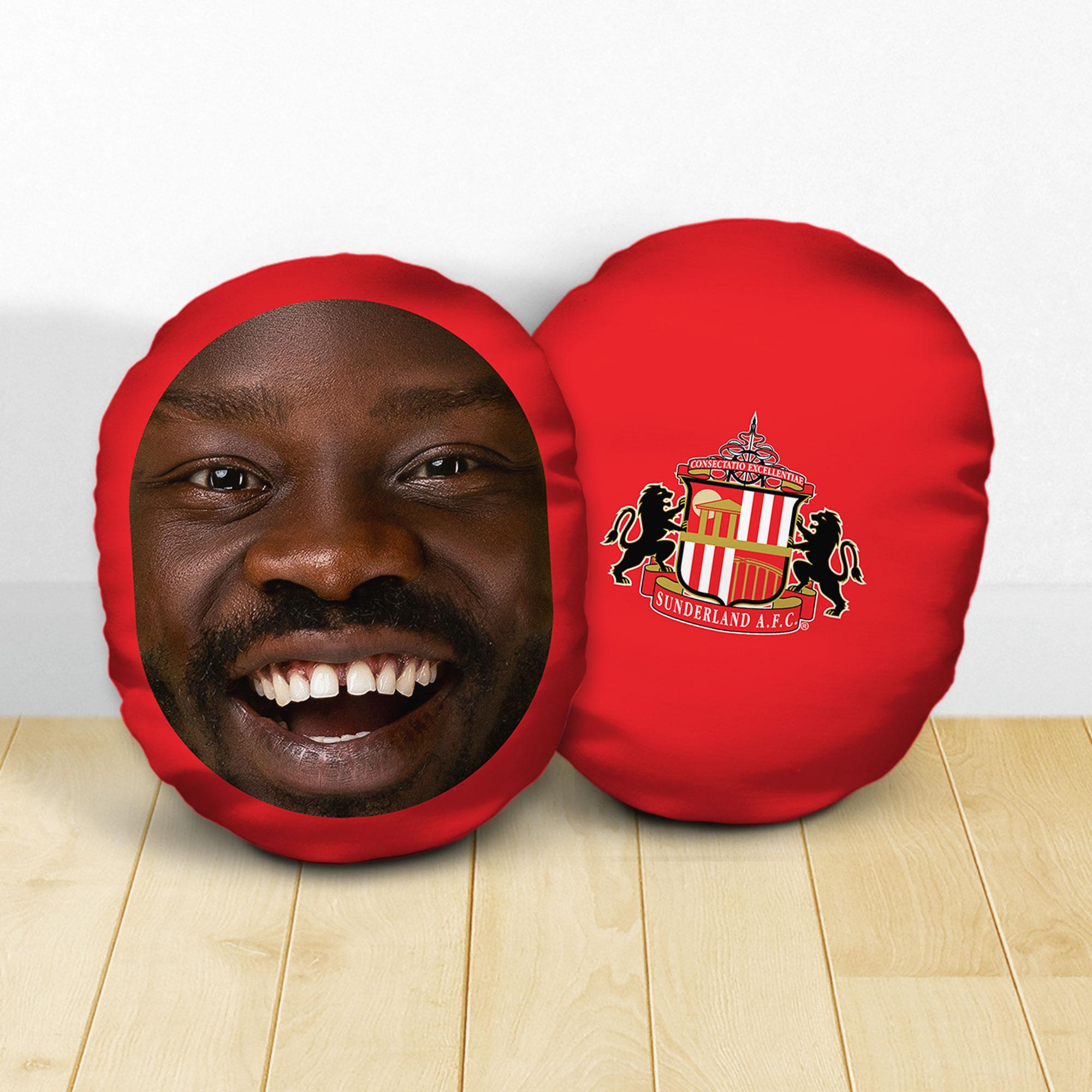Personalised Sunderland AFC Crest Mush Cush