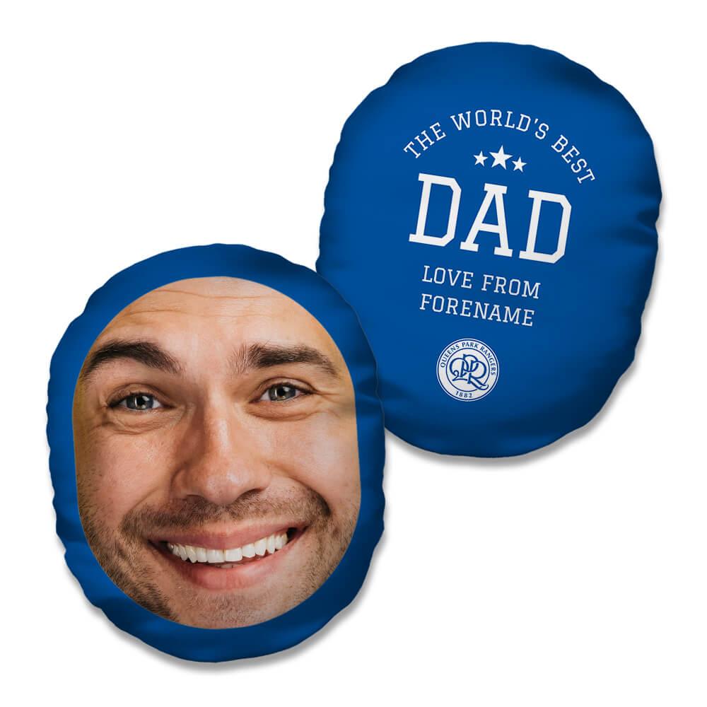 Queens Park Rangers FC World's Best Dad Mush Cush