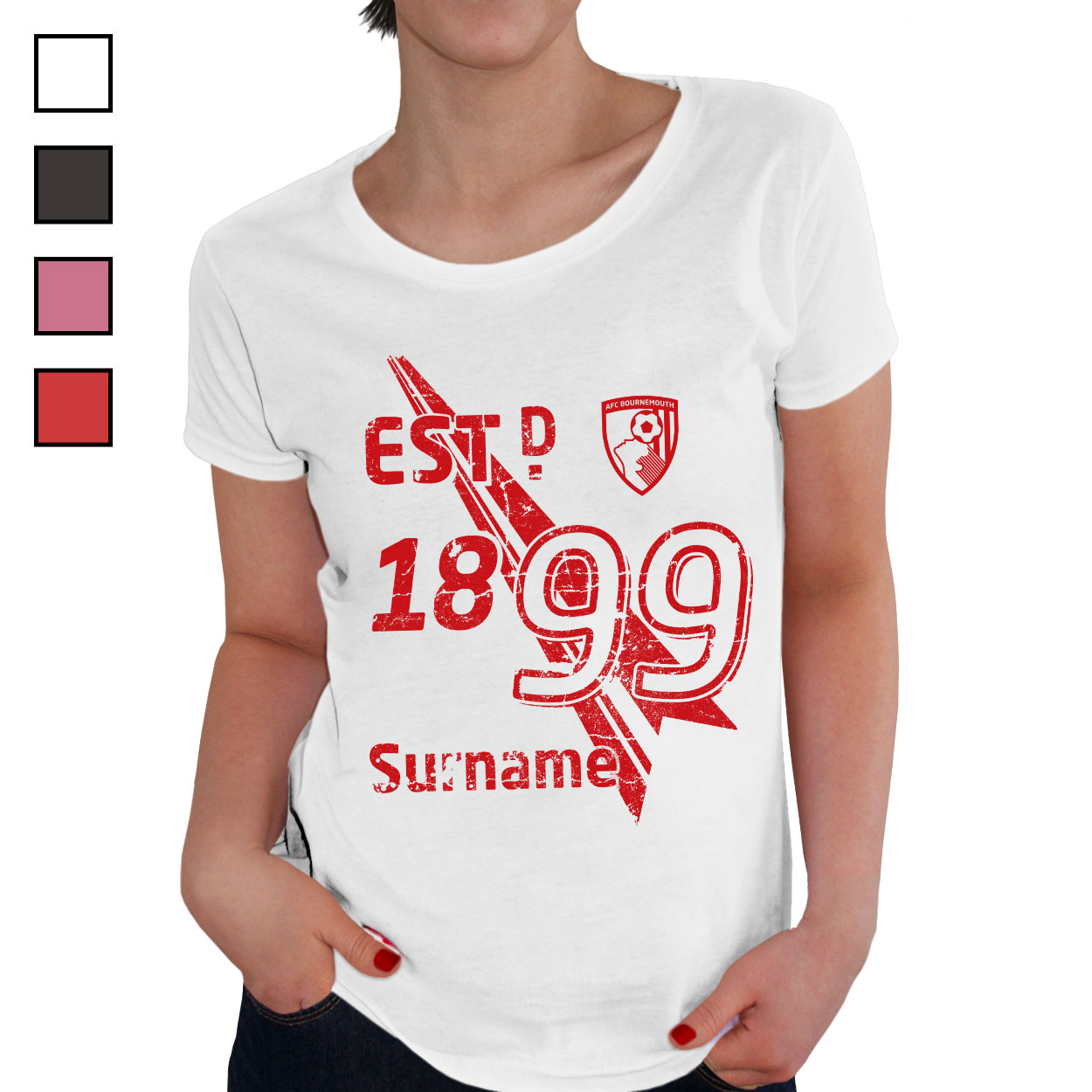 AFC Bournemouth Ladies Established T-Shirt