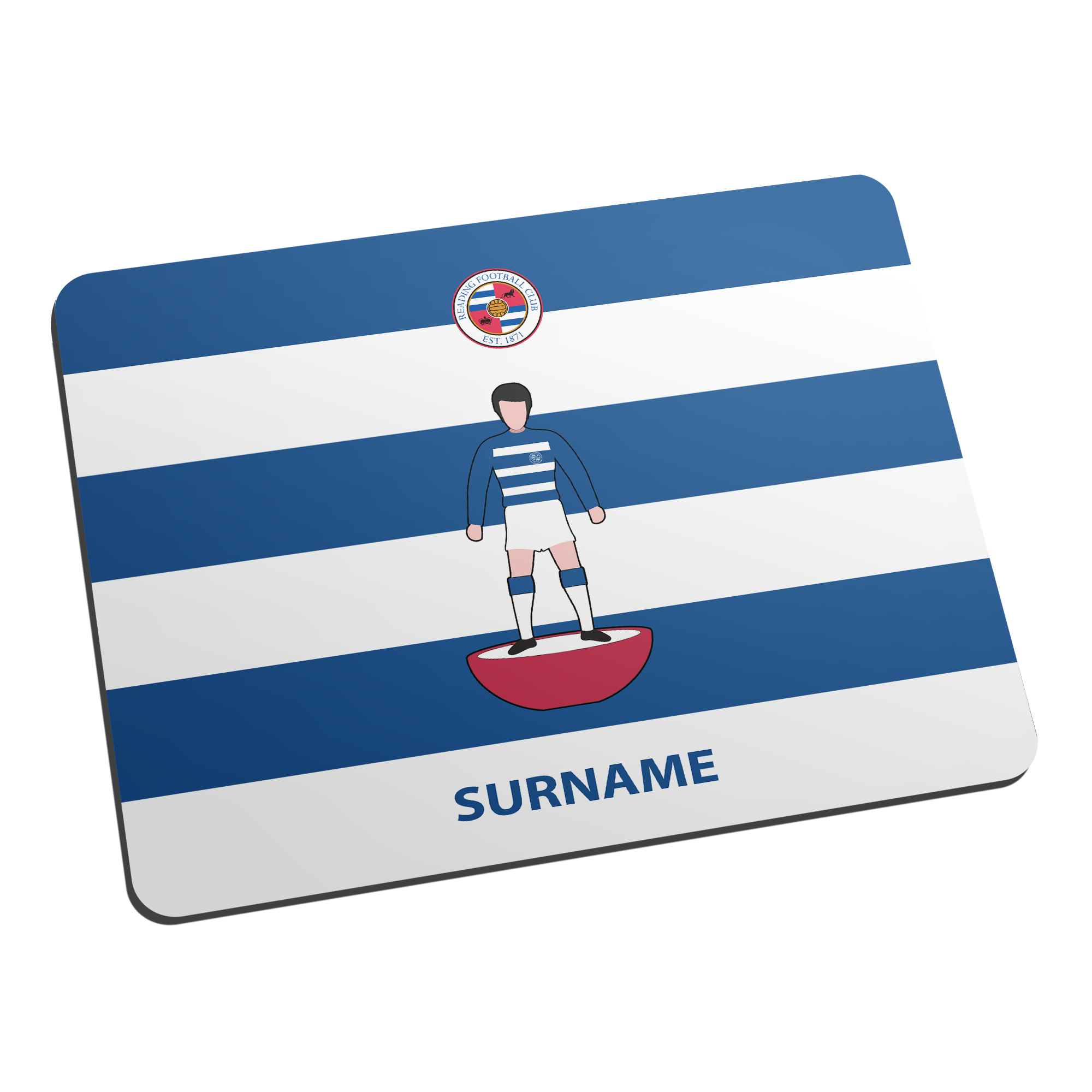 Reading FC Player Figure Mouse Mat