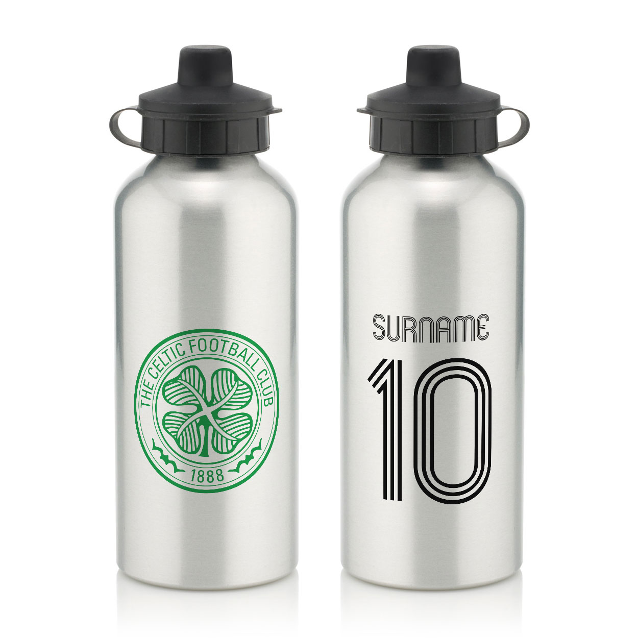 Celtic FC Retro Shirt Water Bottle