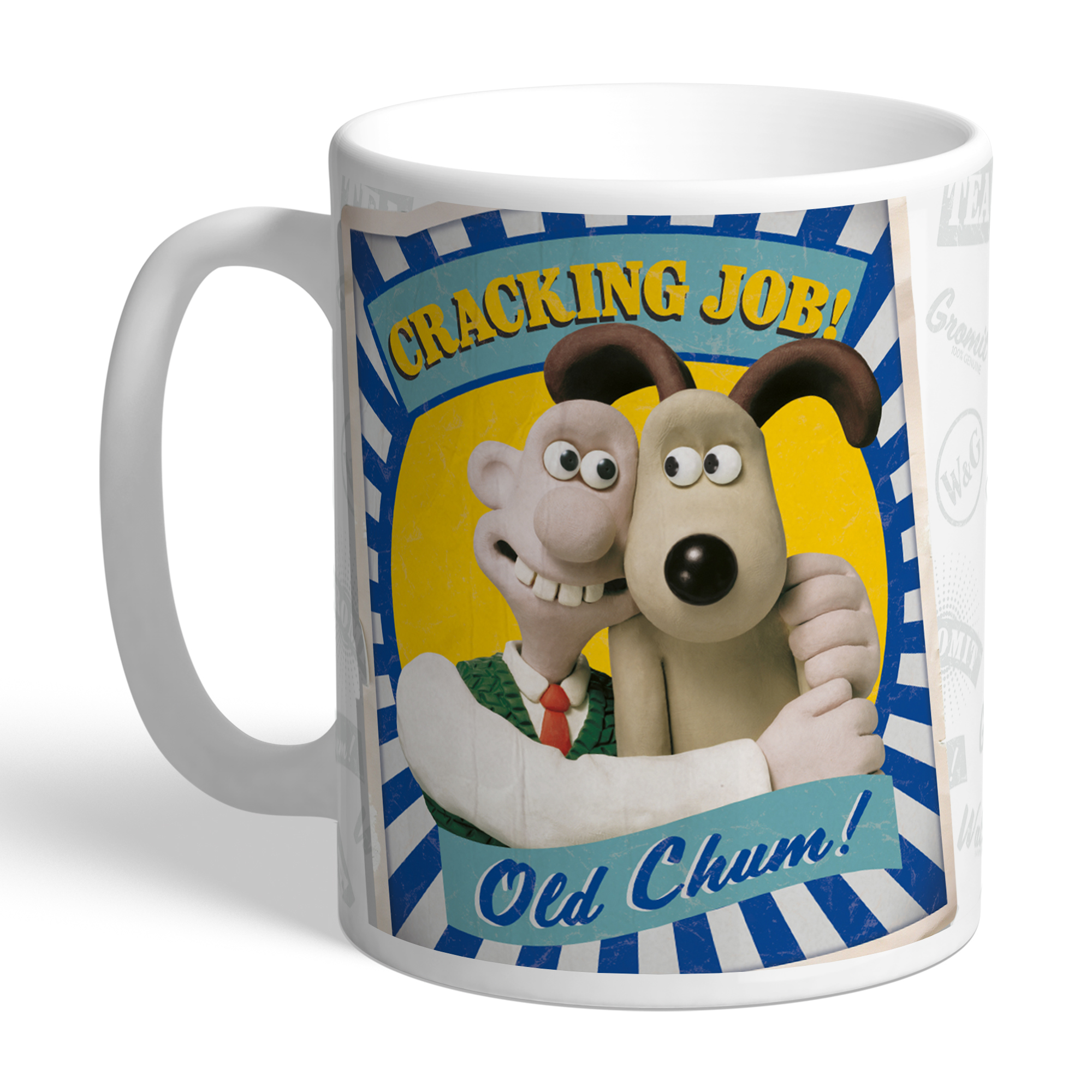Wallace and Gromit Old Chum Mug