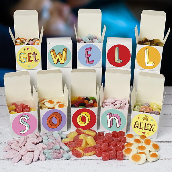 Get Well Soon Sweet Boxes