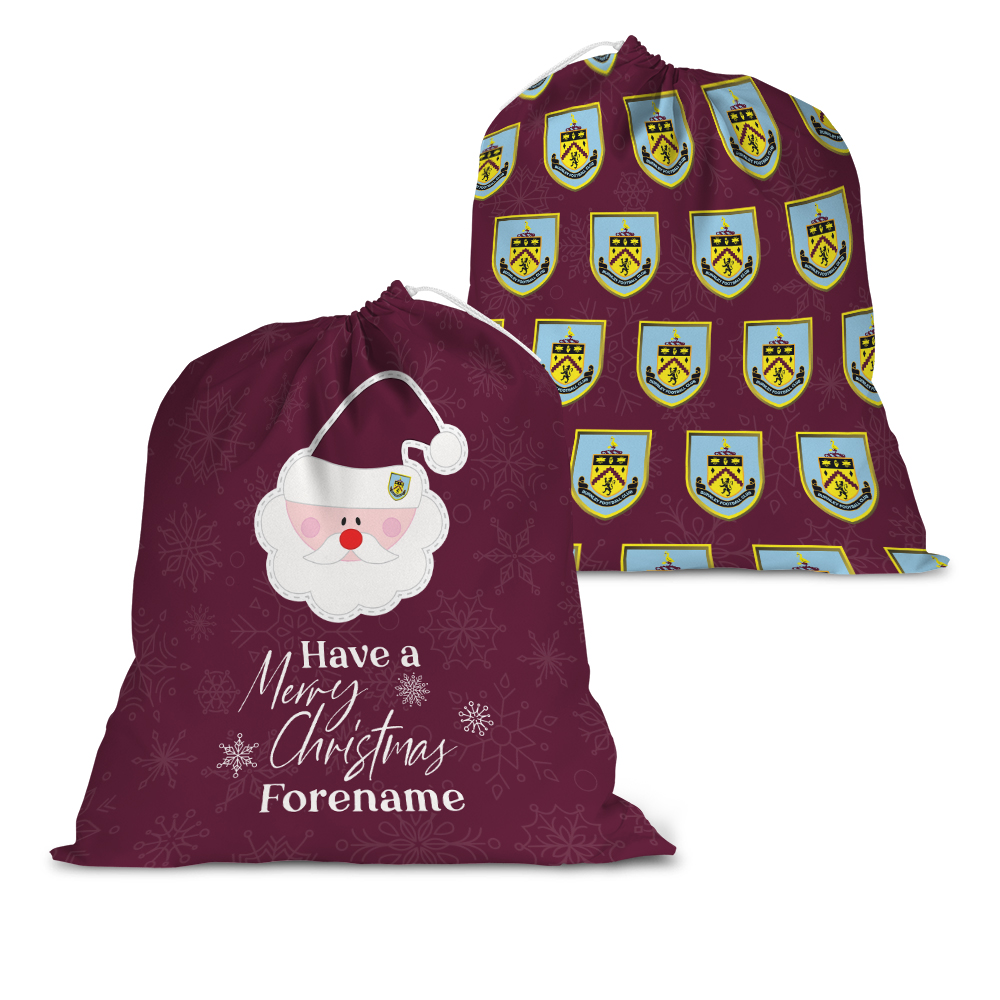 Burnley FC Merry Christmas Santa Sack