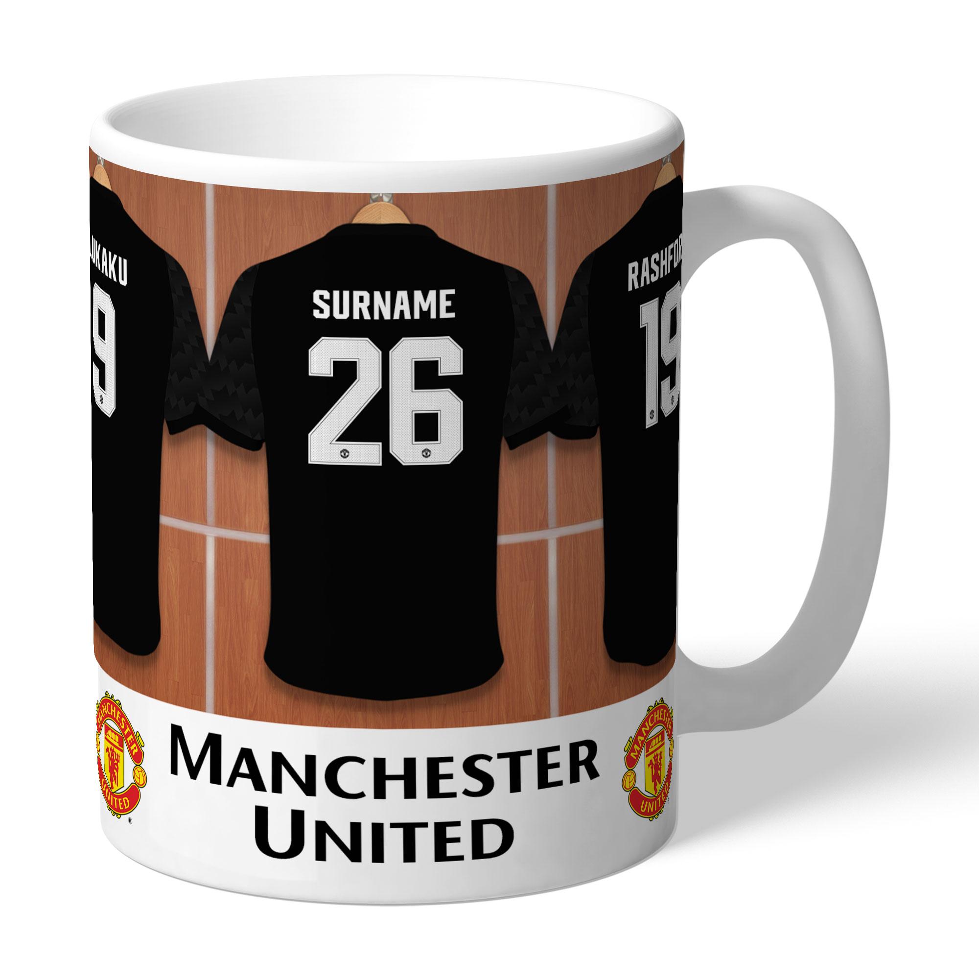 Manchester United FC Away Dressing Room Mug
