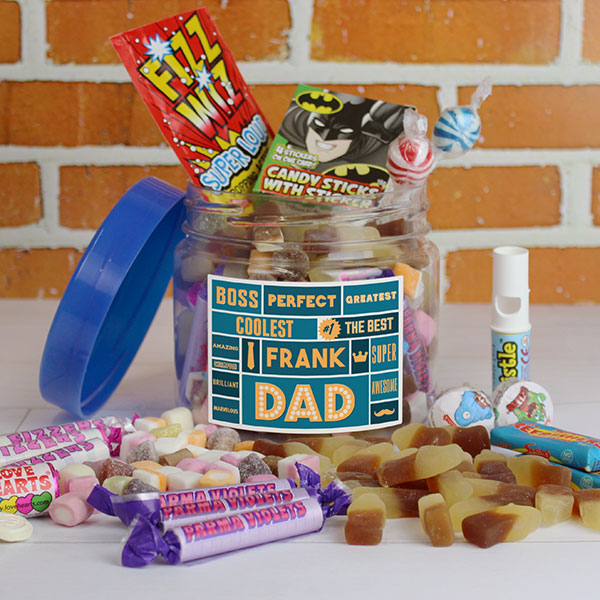 Best Dad - Retro Sweet Taster Jar