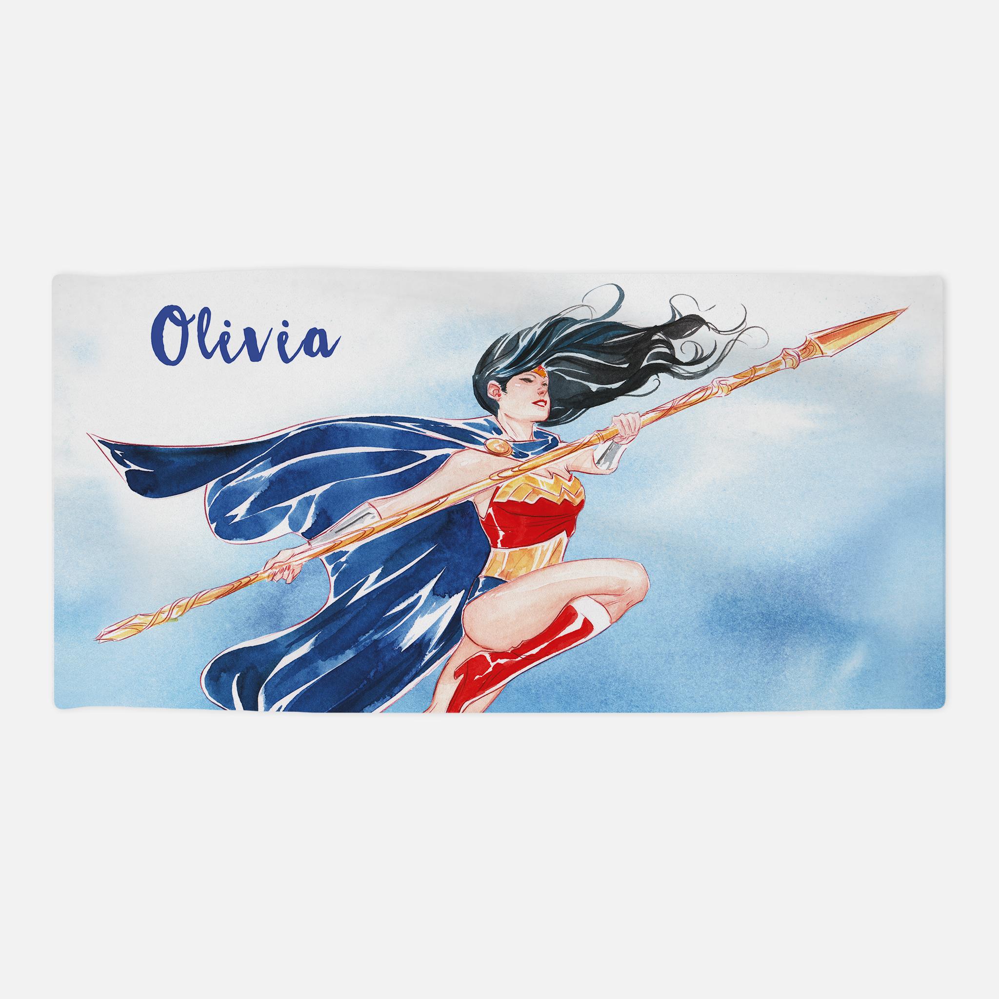 Wonder Woman™ Beach Towel - Watercolour