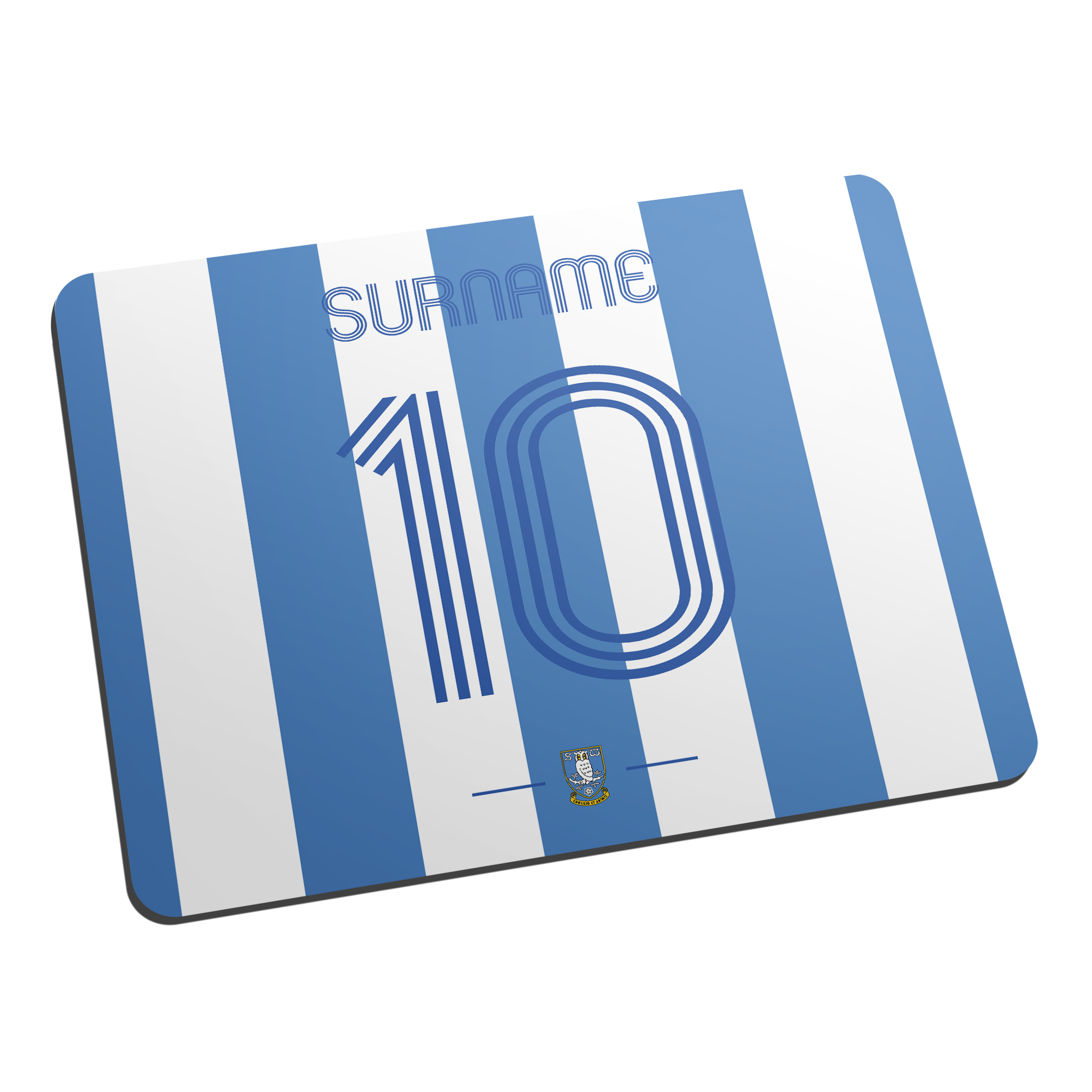 Sheffield Wednesday Retro Shirt Mouse Mat