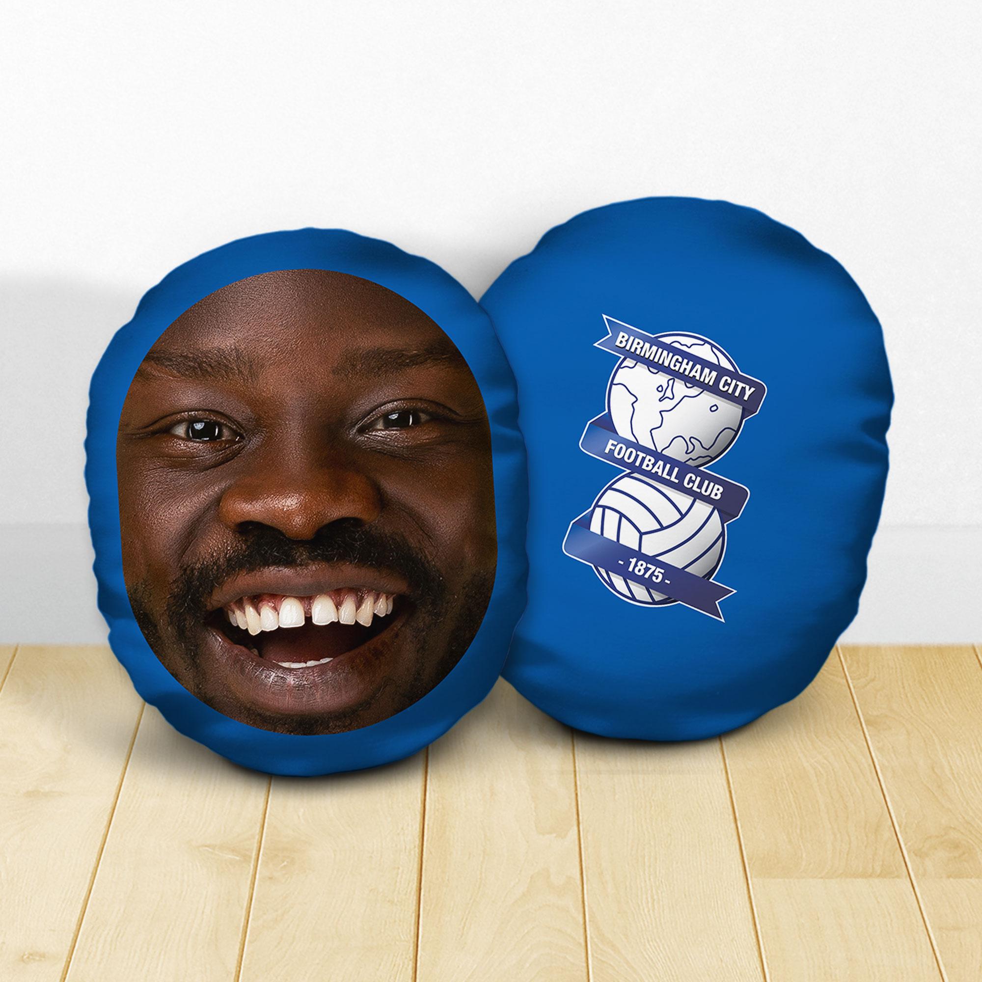 Personalised Birmingham City FC Crest Mush Cush