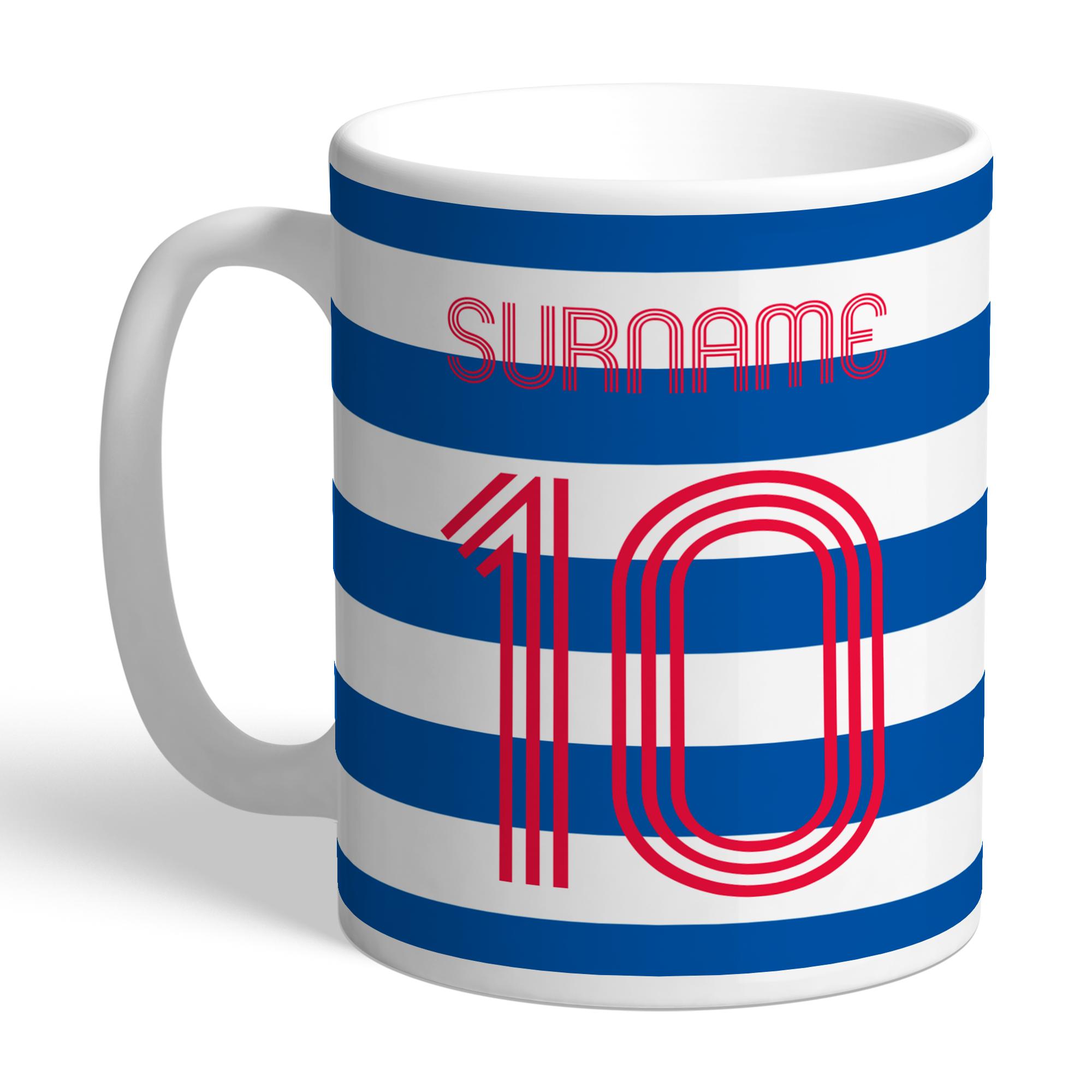 Queens Park Rangers FC Retro Shirt Mug