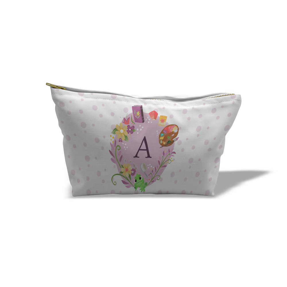 Disney Princess Rapunzel Initial Medium Wash Bag
