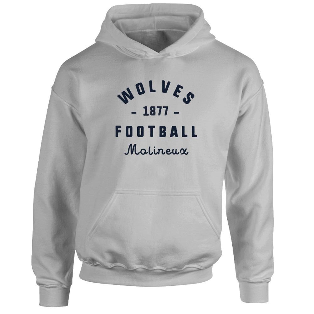 Wolves Stadium Vintage Hoodie